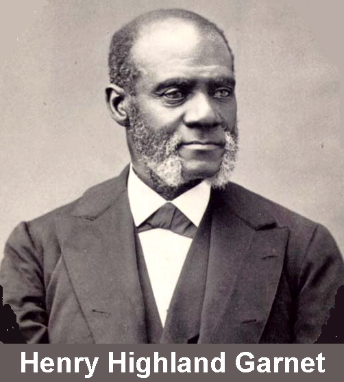 the rhetoric of henry highland garnet A recent example of this war of words, a takedown in rhetoric occurred back in  the  henry highland garnet and the meeting would have long been forgotten.