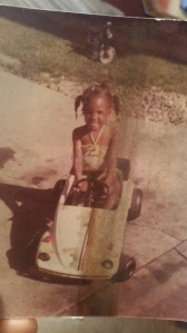 Me as a very cute little girl growing up in the 70's post the Civil Rights Era but during the Black Power Movement.
